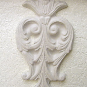 Plaster Molds Accents
