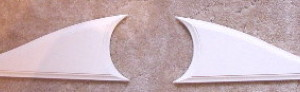 plaster mold over door brackets