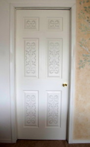 plaster-stenciled-door
