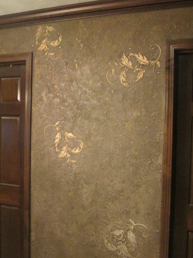 Mave Alft Creates Stunning Wall With Plaster Stencils