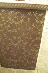 Stenciled-cabinet-panel_S