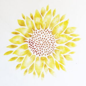 stencil_large_sunflower_4