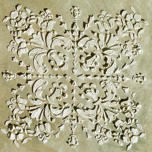 Plaster Stencil Dartworth Tile