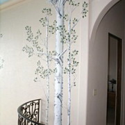 Danny Carter Raised Plaster Aspen Trees Small