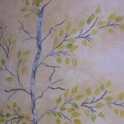 Brenda Slange Raised Plaster Tree
