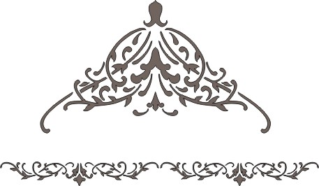 Plaster Stencil English Victorian Border Walls Stencils