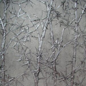 Plaster Botanical Stencils