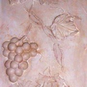 Plaster-Grapes-Stencil