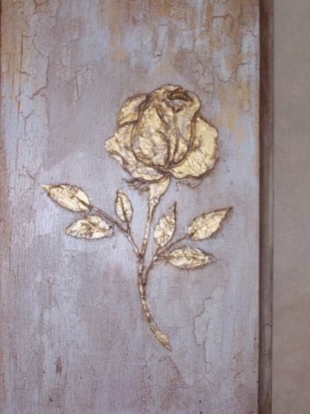 Plaster Stencil Single Rose Walls Stencils Plaster