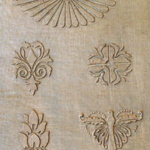 Plaster Furniture Stencils and Craft Stencils