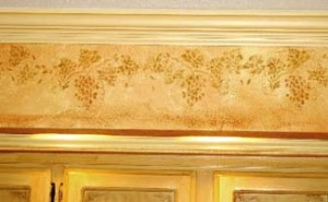 plaster_stencil_grapes_wall