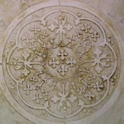 plaster_stencil_moroccan_medallion_wall