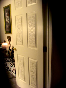 stenciled_door_done_night