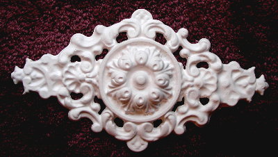 Plaster Mold Empire Medallion
