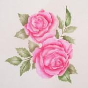 Wall Stencil Leanne Rose