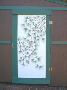 Shed_Door_Stenciled