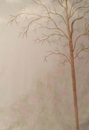 Wall Stencil Olive Tree Walls Stencils Plaster Stencils