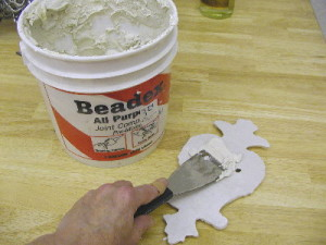 How to mount cast plaster