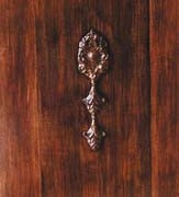 Wood Grain Cabinet Door