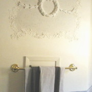 Plaster Mold Antique Wreath