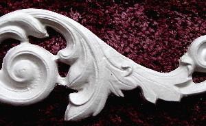 Plaster Molds Scrolls