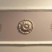 plaster-mold-wall-frame-&-medallion
