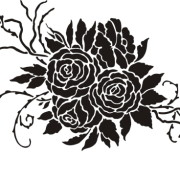 stencil-antique-roses-blk-525