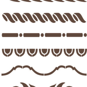 Stencil Furniture Borders 2