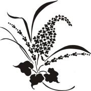 Lilac Love Stencil