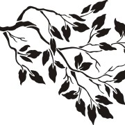 stencil-tree-branch-blk