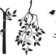 tree-stencil-blk
