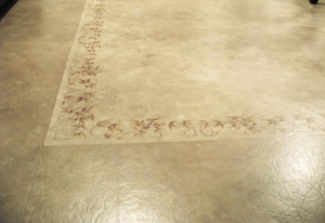How to paint linoleum floors