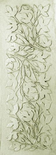 plaster_stencil_leaf_panel