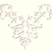 Acanthus Leaf Ceiling Medallion Half