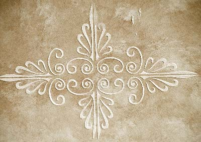 Plaster Stencil Bradford Frieze