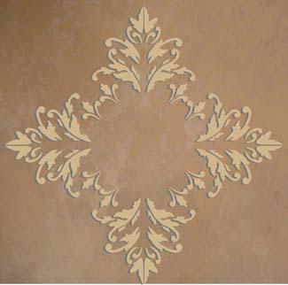 Plaster_Stencil_Acanthus_Medallion