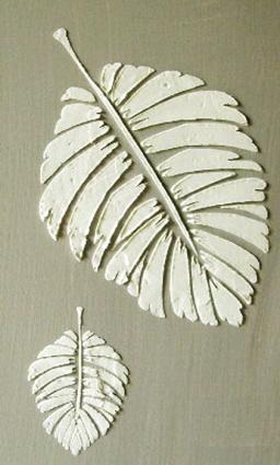Plaster Stencil Formosa Palm