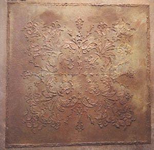 Plaster Stencil 16 X 16 Victorian Ceiling Tile Walls