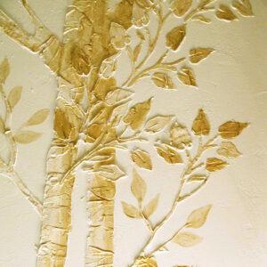 Plaster Tree Stencils