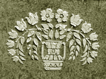 Plaster Stencil Chancelor Frieze