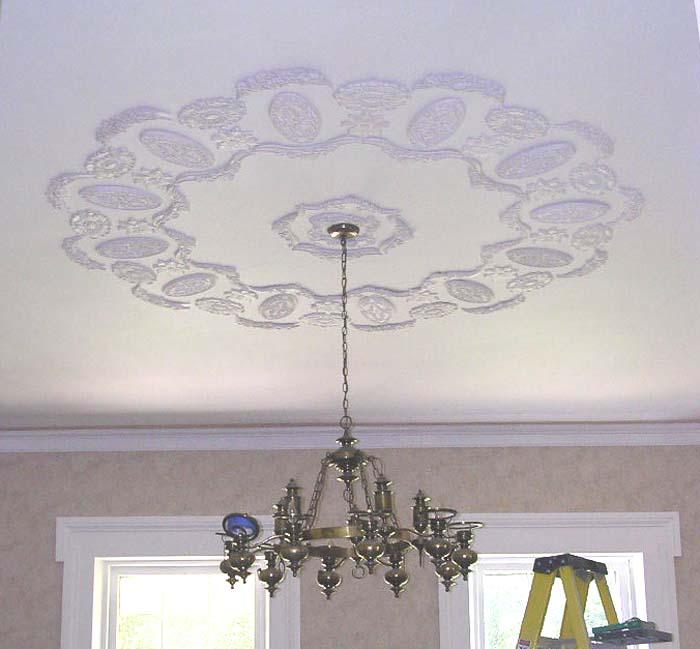 Create Stunning Plaster Ceiling Medallions with Plaster Molds