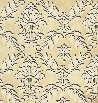 plaster stencil florentine damask