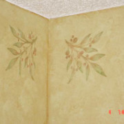 plaster_stencil_berry_branch_wall