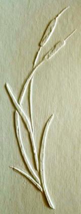 plaster_stencil_arched_cattails_4