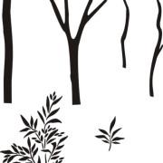 stencil_tree_sapling_BW_7