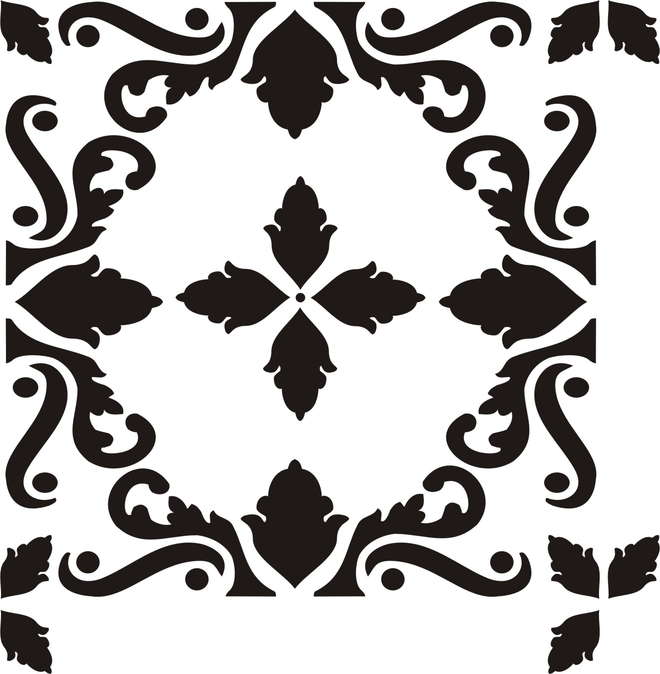 Painting Stencil Sterling Tile 12 Inch Walls Stencils