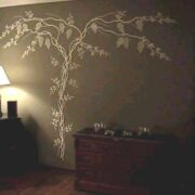 Plaster-Wisteria-Stencil-Tree
